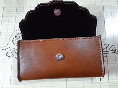 کیف گوشی موبایل چرمی دست دوز